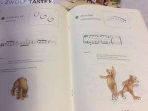 オ-ストリアの楽譜2